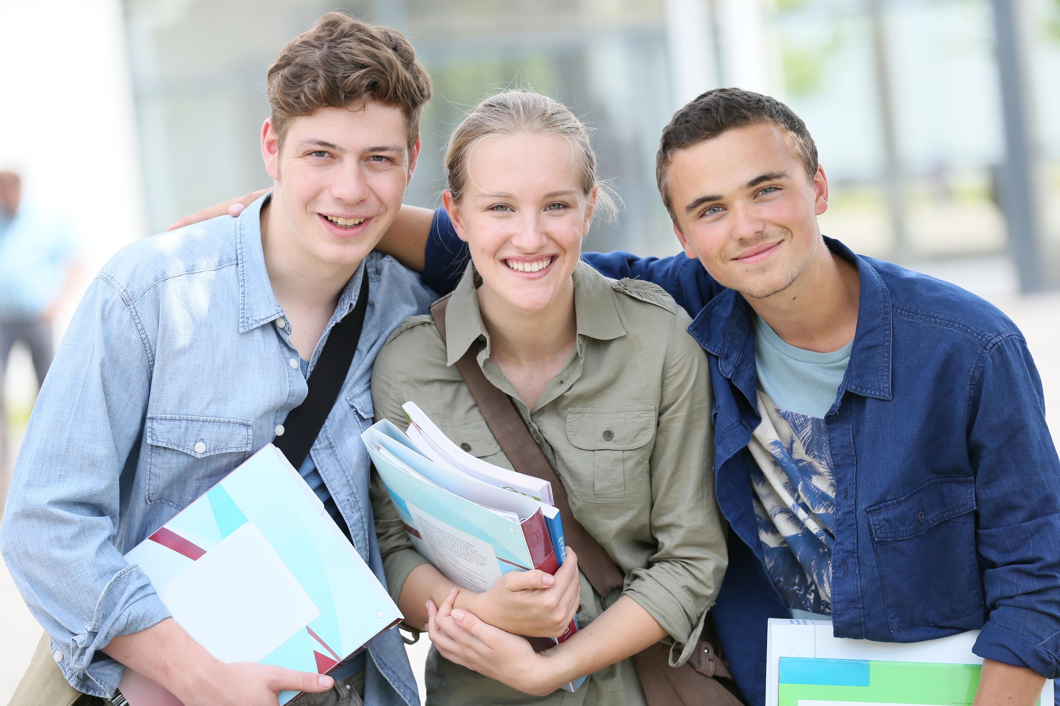 Konzept Studenten und Schüler