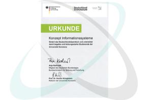 Konzept finanziert Deutschlandstipendium