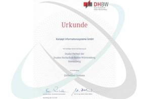 Dualer Partner des Studiengangs Embedded Systems