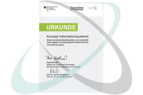 Konzept financed German stipend