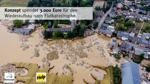 Help for the victims of the flood disaster